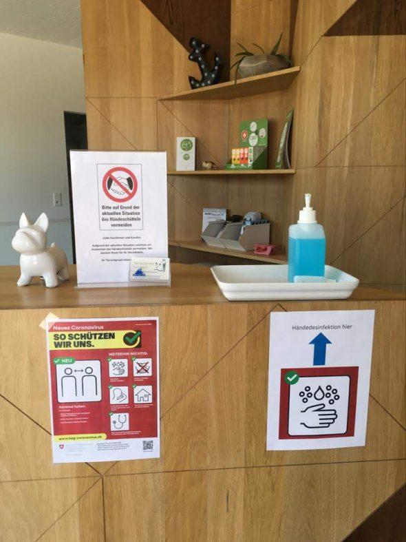Verhaltensregeln zum Coronavirus (COVID-19) in der Tierarztpraxis