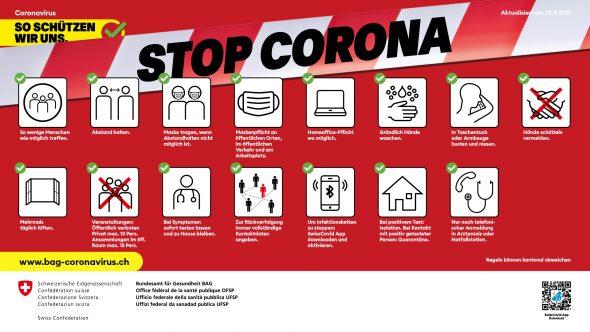 Coronavirus-Prävention in der Tierarztpraxis Küsnacht